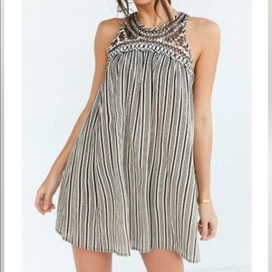 Dresses & Skirts - Urban Outfitters Open Back High Neck Dress